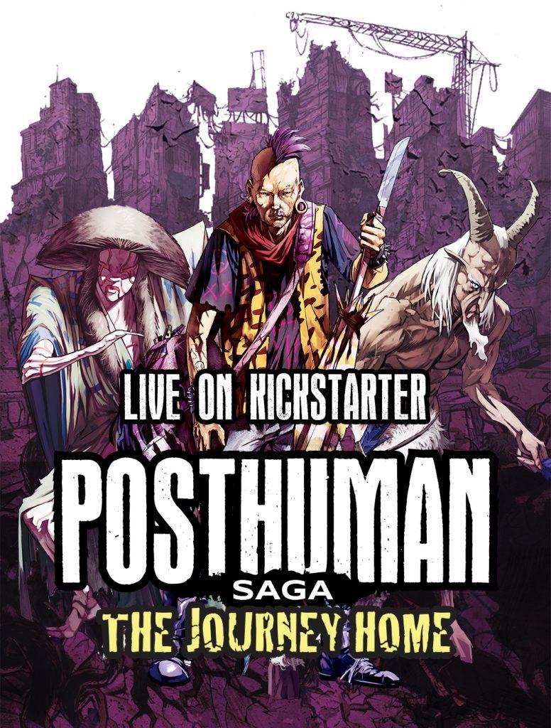 Posthuman Saga The Journey Home