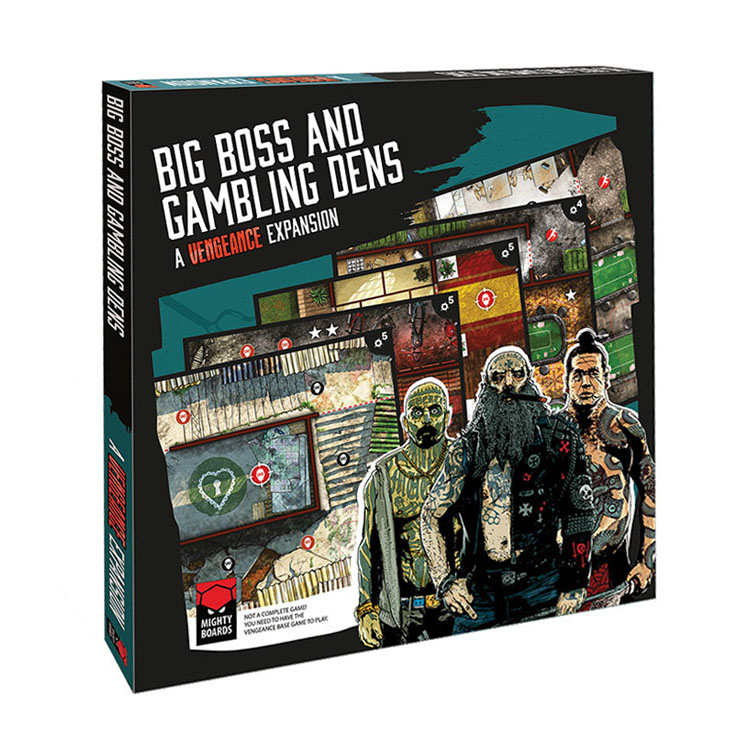 Vengeance: Big Boss & Gambling Dens
