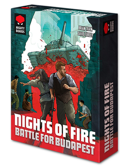 Nights of Fire: Battle for Budapest -  Mighty Board