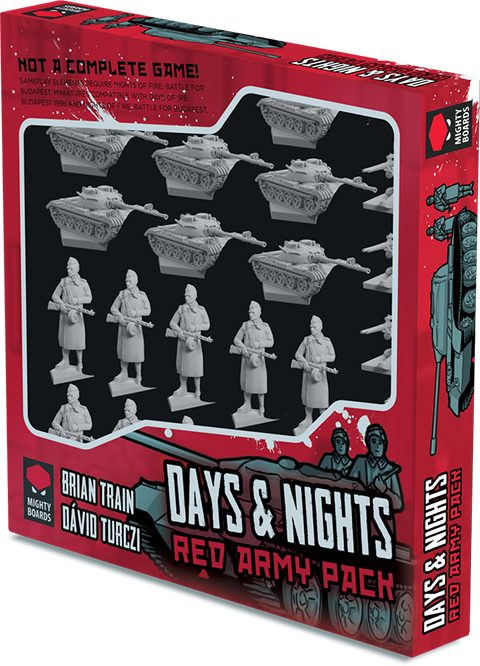 Days and Nights: Red Army Expansion -  Mighty Board